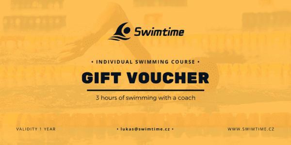 Gift voucher for 3 hours individual swimming course