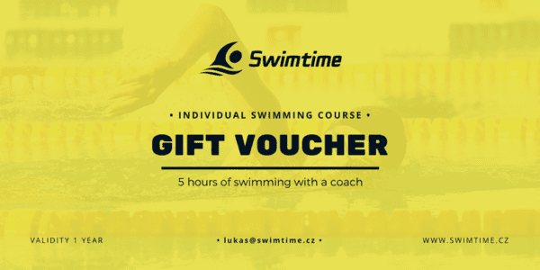 Gift voucher individual swimming course 5 hours