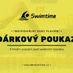 Dárkový poukaz individuální kurz plavání 5 hodin
