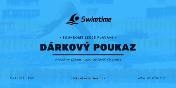 Poukaz soukromé lekce plavání